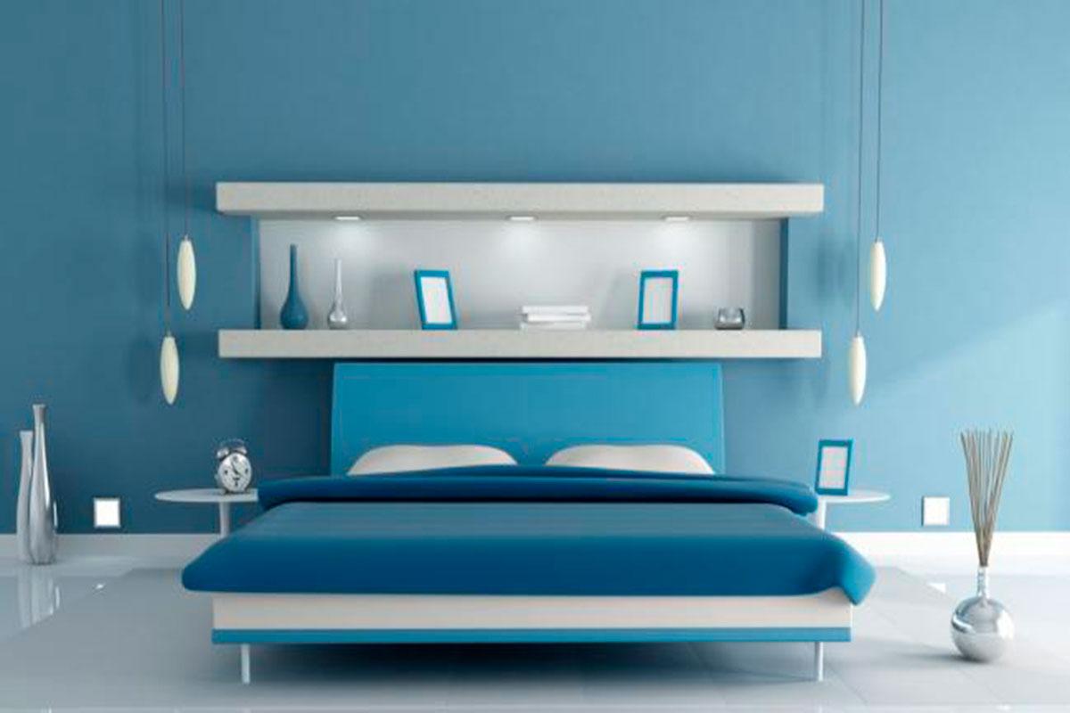 Colores ideales para pintar tu habitaci n blog oficial for Cuartos pintados de azul