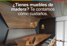 cuidar muebles de madera
